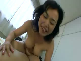 She takes his model boner for a ride with her milf Pussy