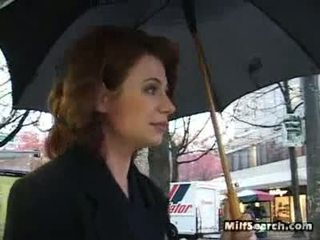 On The Street This Milf Wishes Some Meat