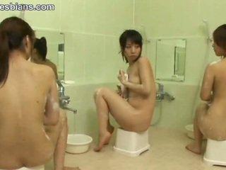lesbijka, nastolatków, azjatyckiego