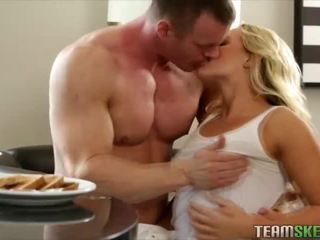 Breakfast cereal for sex with Cali Carter