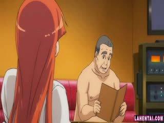 Hentai picsa slammed által idősebb férfi