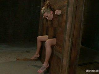 Jovem aiden aspen going através o punishment