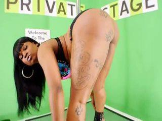 Big Booty Diamond Monroe Stripping And Twerking
