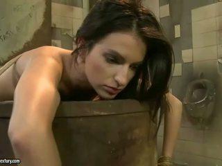 brunette thumbnail, vernedering scène, heetste voorlegging tube