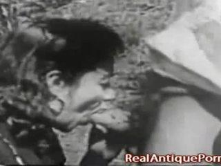 1915 verrückt antik draußen porno!