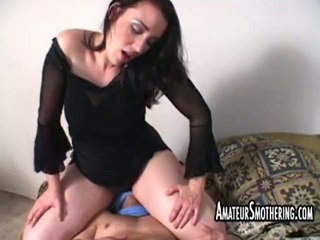 heetste hardcore sex, meer facesitting video-, echt femdom mov