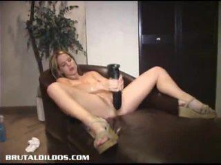masturbation, amateur-porno, beobachten girls play with dildos