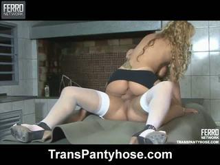Andressa julia τρανς καλτσόν video1