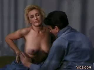 Sly Blond Mia fucks inside prisonhouse cell