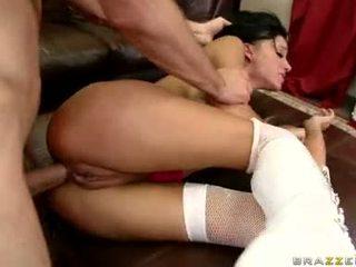 Sizzling babe haley wilde is having enjoyment getting hammered op haar inviting bips