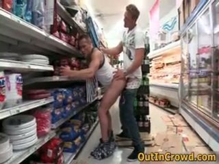 Athletic Gays Having Public Sex In A SuperMarket 3 By Outincrowd