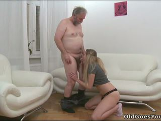 blowjob, old and young, group