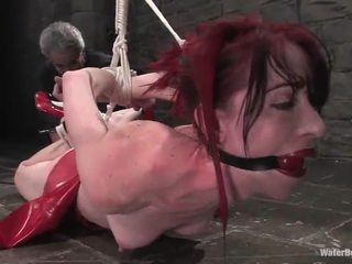 Ginger Arachnia Webb Has Hosed And Tortured
