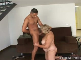 Smut Babe Giving The Hand Job And Looking At The Camera