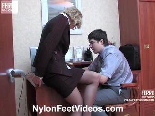 Christie ja adam kewl sukkahousut jalkaa actionion
