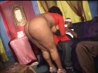 trio seks, groot zwart en ebony video-, anaal