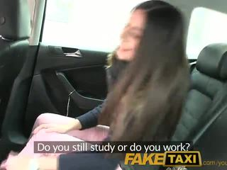FakeTaxi Sexy Ivana can't say no to free cahs in my Taxi