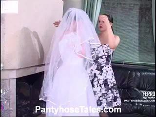 bármilyen menyasszony, videók, leszbikus szex szép