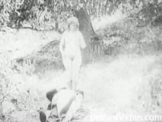Piss: Antique Porn 1915 - A Free Ride