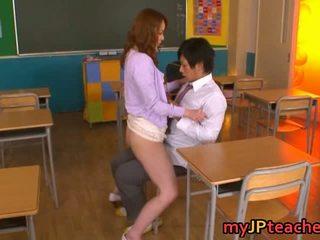 Tanár enjoying nagy fasz