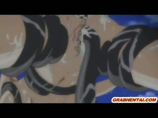 big Titty toon girls groupfucked all hole by tentacles