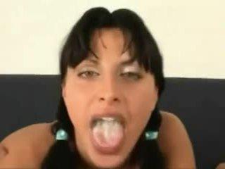 Cum in her mouth ketika