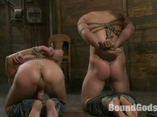 Tristan Jaxx Gets Tied Up And Flogged