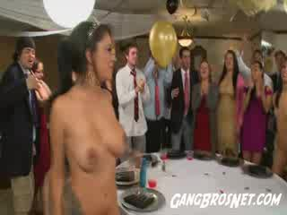 Veronica Rodriguez Squirt at the Crazy College Dance Party