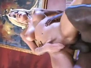 Blond babeh stacy thorn fucked in the bokong with ireng pipe