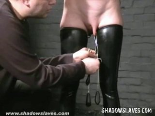 Gimp Masked Slavegirl Cherry Torn Tortured And Mercilessly Caning Of Blonde American Fetish Centerfold In Bondage, Hooter Torments And X Rated Sadism