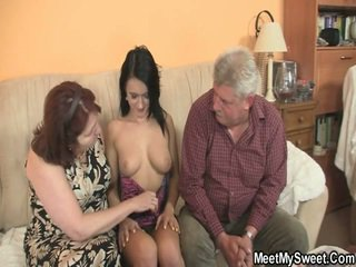 Spicy Fuzz Box Screwing Close By Her BF's Mature Parents
