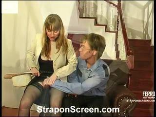 groot strap-on, strap on bitches, vrouwelijke dominantie