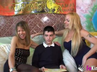 Jordi fucks Chloe and Tamarah Dix