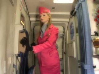 beste uniform mov, meer air hostesses scène