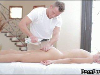 Raunchy and wild massage