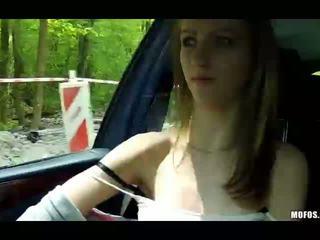 kijken auto film, online amateur film, vers tiener vid