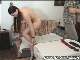 butt Paddled chick