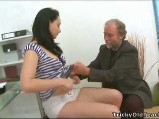 Тройка секс с учител