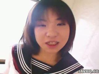 sehen japanisch beobachten, schüler nenn, nenn asiatisch frisch