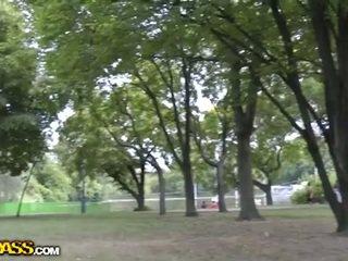 Amira adara's public park sex