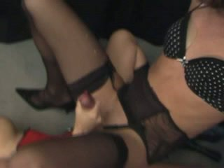 more crossdresser, fun sex, strap-on