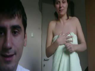 porno, plezier realiteit, nominale hoorndrager scène