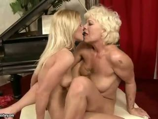Seksi dan seksi remaja gadis lesbian seks video