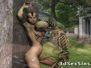 3d creatures apaan babes!