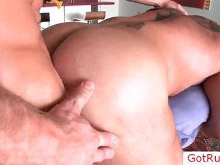 Verklig unfathomable bög anala massagen