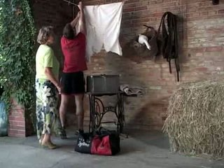 Mbah martha gets help with her laundry