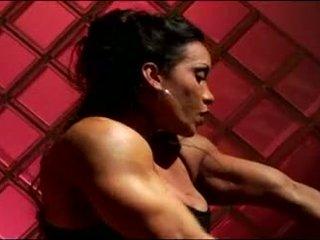 masturbatie, bodybuilder kanaal, bigclit video-