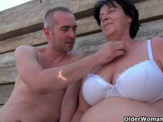 oud porno, plezier ouder klem, zien grootmoeder porno