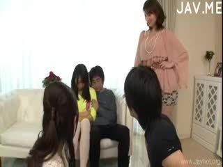 japoński, seks grupowy, obciąganie