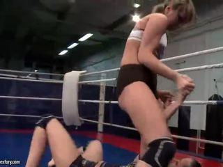 see lesbian thumbnail, fun lesbian fight vid, online muffdiving